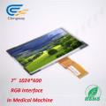 """7"""" 50 Pin RGB Interface LCD Screen Display"""