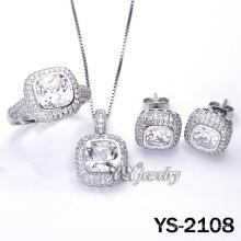 925 joyas de plata conjunto con Customed (YS-2108)