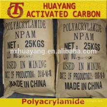 Flockungsmittel Polyacrylamid kationisch / anionisch PAM Goldmine / Bergbau erkunden