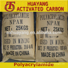 Flocculant Polyacrylamide cationic/anionic PAM Gold mine/mining explore