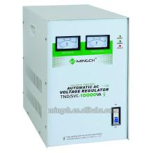 Regulador / estabilizador de voltaje de la CA de Tnd / SVC-10k de la sola fase de Customed de la serie