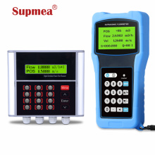 ultrasonic flow meter pvc pipe clamp on flow meter 4-20mA output flow rate measurement