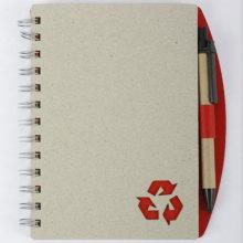 Big Grey Diary With Lock