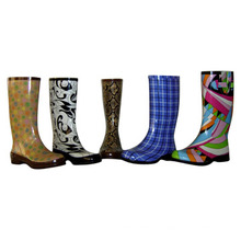 Безопасности Резиновые Boots_Kids Дождь Boots_Lady Мода Резиновые Сапоги