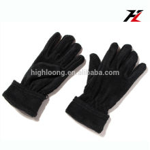 Нижняя цена теплые флисовые перчатки с полными пальцами