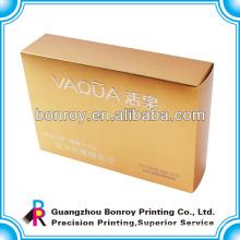 Custom printed wholesale tin folding paper lunch box