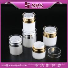 SRS alta quanlity airless embalagem de plástico, airless garrafa com cuidado da pele para loção