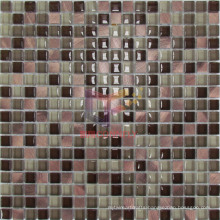 Rose Brozen Color Aluminium Mix Crystal Mosaic (CFA70)