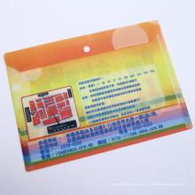 Suministros de oficina de alta calidad Sostenedor del archivo de papel (bolso plástico del archivo)