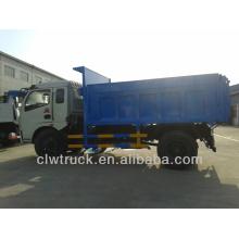 Dongfeng camión de eliminación de residuos, 6-8CBM Camión volquete de basura para la venta