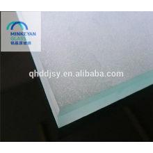 Vidrio grabado al ácido de 3-10m m con CE / CCC / ISO con la esquina segura