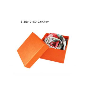 Caja de regalo de la bufanda del papel de lujo de la cartulina con la tapa