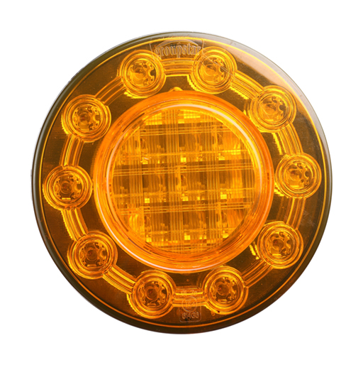 Amber Round Tail Lights