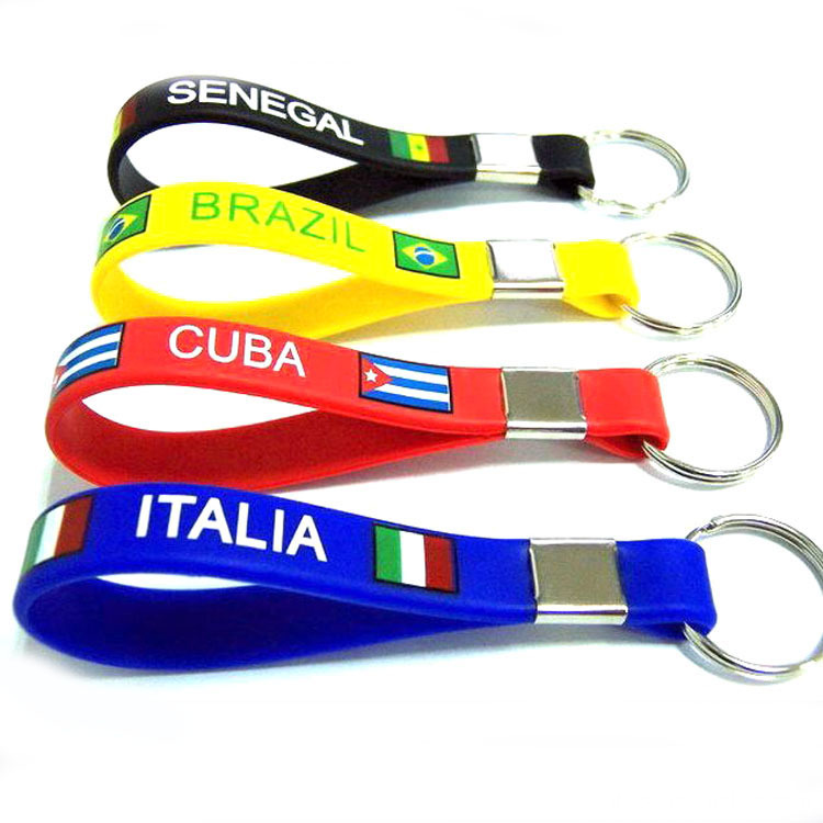 Convenient Silicone Key Ring Key Chain