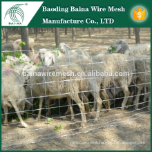 professional electro galvanized grassland fence/animal enclosure/ranch fence