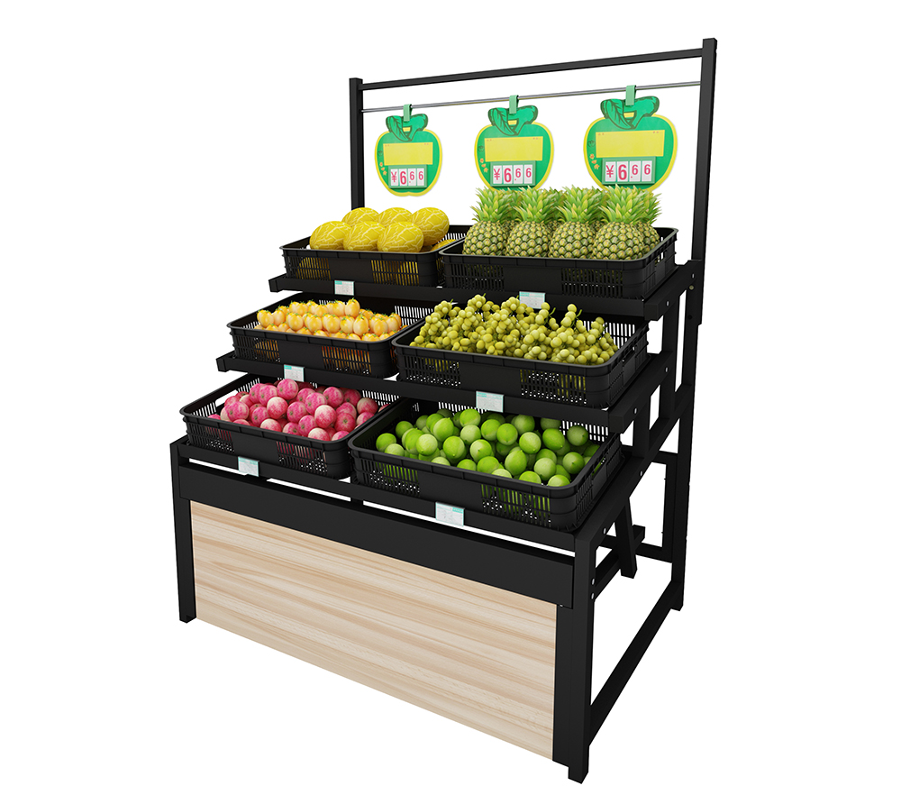 Single Sided Vegetable Shelf