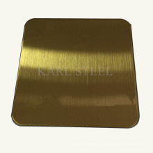 Hallo-Qualität Edelstahl Farbe Blatt für Dekoration Materialien
