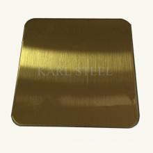 Высокое качество волосяного покрова листа нержавеющей стали 201 для отделочных материалов