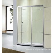 Puertas de baño de vidrio templado puerta de vidrio templado puerta de ducha de baño (D-21)