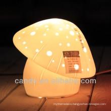 Porcelain Mushroom Desk Lamp china supplier