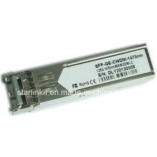 Émetteur-récepteur fibre optique SFP-Ge-CWDM-1470nm tiers compatible avec les commutateurs Cisco
