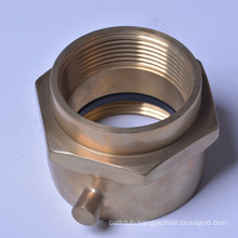 """2 1/2"""" (F) Swivel X M, Brass /Chrome plated connecter 8521032"""