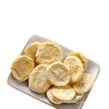 China factory Delicious vacuum freeze dried banana sliced