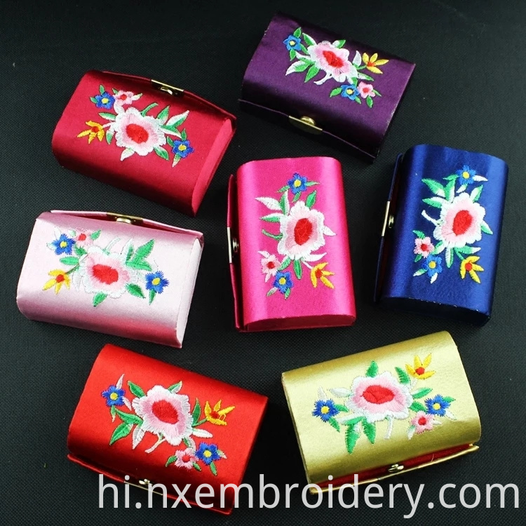 Hand Embroidered Brocade Cases
