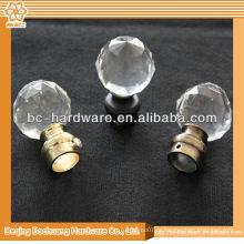 25mm, 30mm кристаллические занавесы finials