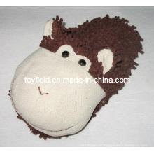 Chinelos pelúcia animais de pelúcia cabeça sapatos (tf9721)