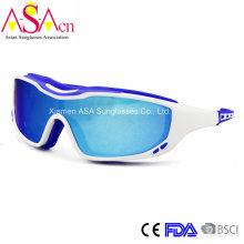 Мода дизайнер UV400 защиты ПК Мужские спортивные солнцезащитные очки (14372)