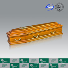 European Italian Style Solid Wood Funeral Cremation Coffin&Casket
