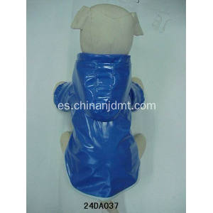 Ropa impermeable para perros azul