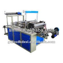 Auto PLC controle saco de plástico de rolamento fazendo máquina
