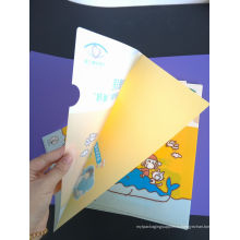 Высококачественные школьные офисные принадлежности Пластиковая папка с файлами (пакет документов)