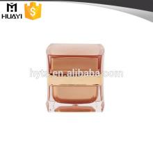 pot de cosmétiques de luxe en cristal pour la crème