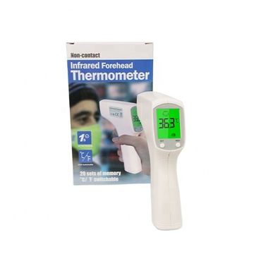 CE ISO Temperaturinstrumente Thermometer Stirn Berührungsloses Thermometer Infrarot-Digitalthermometer