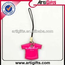 Handmade fashion mobile phone strap with custom logo