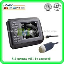 Promotion!!! Meilleur scanneur d'ultrasons portables portable / animal scanner MSLVU15A