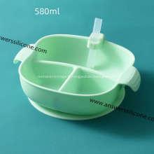 Bol pliable en silicone écologique avec logo personnalisé