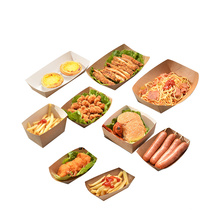 manufacture custom Factory quality food boxes cardboard packaging with window box takeaway