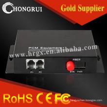 Interface telefônica FXS Troca de SPO FXO Potenciômetros de interface (rj11) linha telefônica sobre conversor de fibra