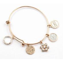 Bracelet à la mode avec Dangles - Dia6.5cm