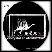 Imagen de cristal de grabado láser K9 3D