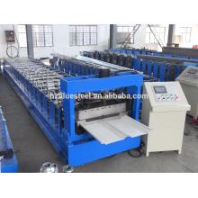 Стационарный шов Металлический кровельный лист Холоднокатаный станок Гидравлический привод Bemo Roll Forming Machine