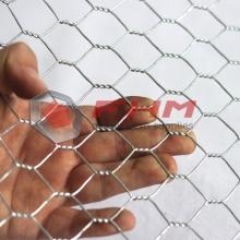 Galvanizado después de tejer la malla de alambre hexagonal GAW