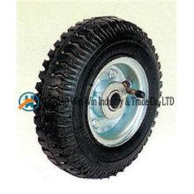 """Ruedas neumáticas X2.50-4 de 8 """"con rueda de goma"""