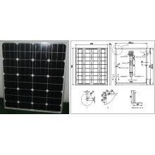 Módulo monocristalino de PV del panel solar de 18V 70W 75W 80W con Ce aprobado