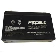 2018 PKCELL 6v 7ah batería de plomo ácido sellada tipo AGM