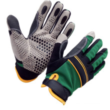Wholesale Anti Impact Synthetic Leather Safety Mechanical Work Glove